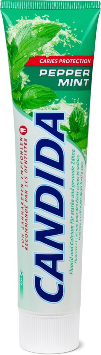 Candida Zahnpasta Peppermint