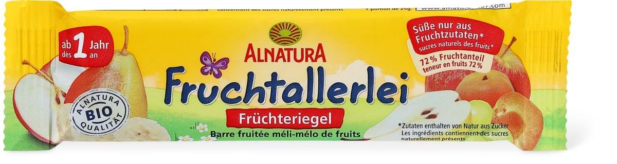 Alnatura Barre fruitée méli-mélo de fruits