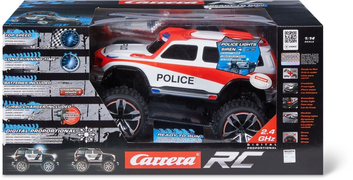 Carrera Rc Mercedes Benz Swiss Polic