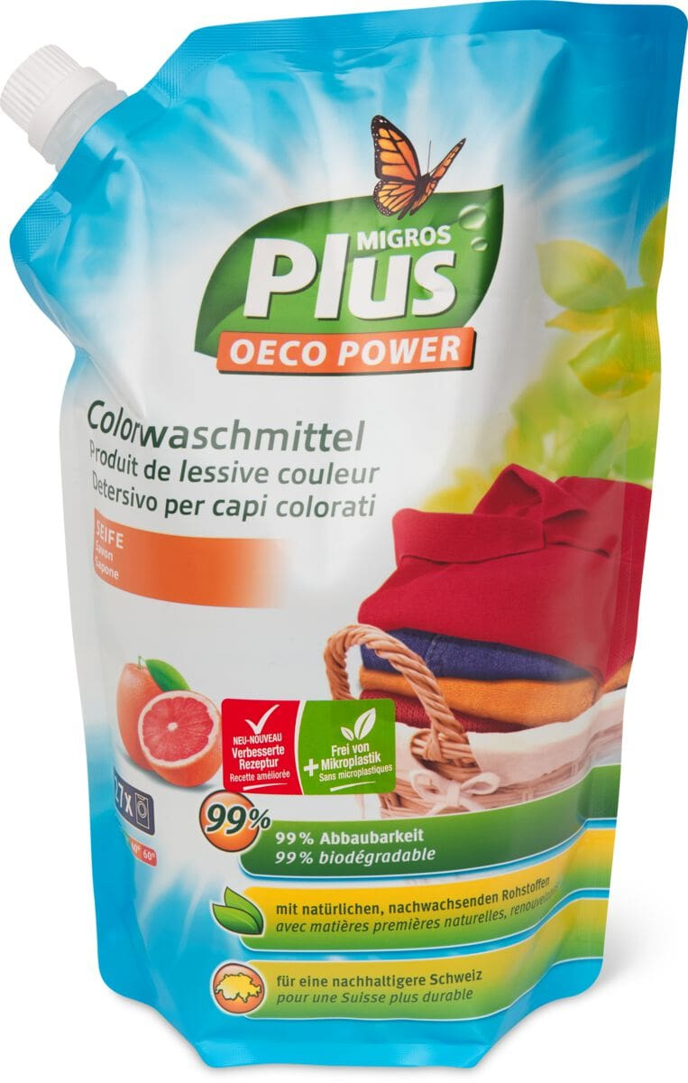 M-Plus Colorwaschmittel