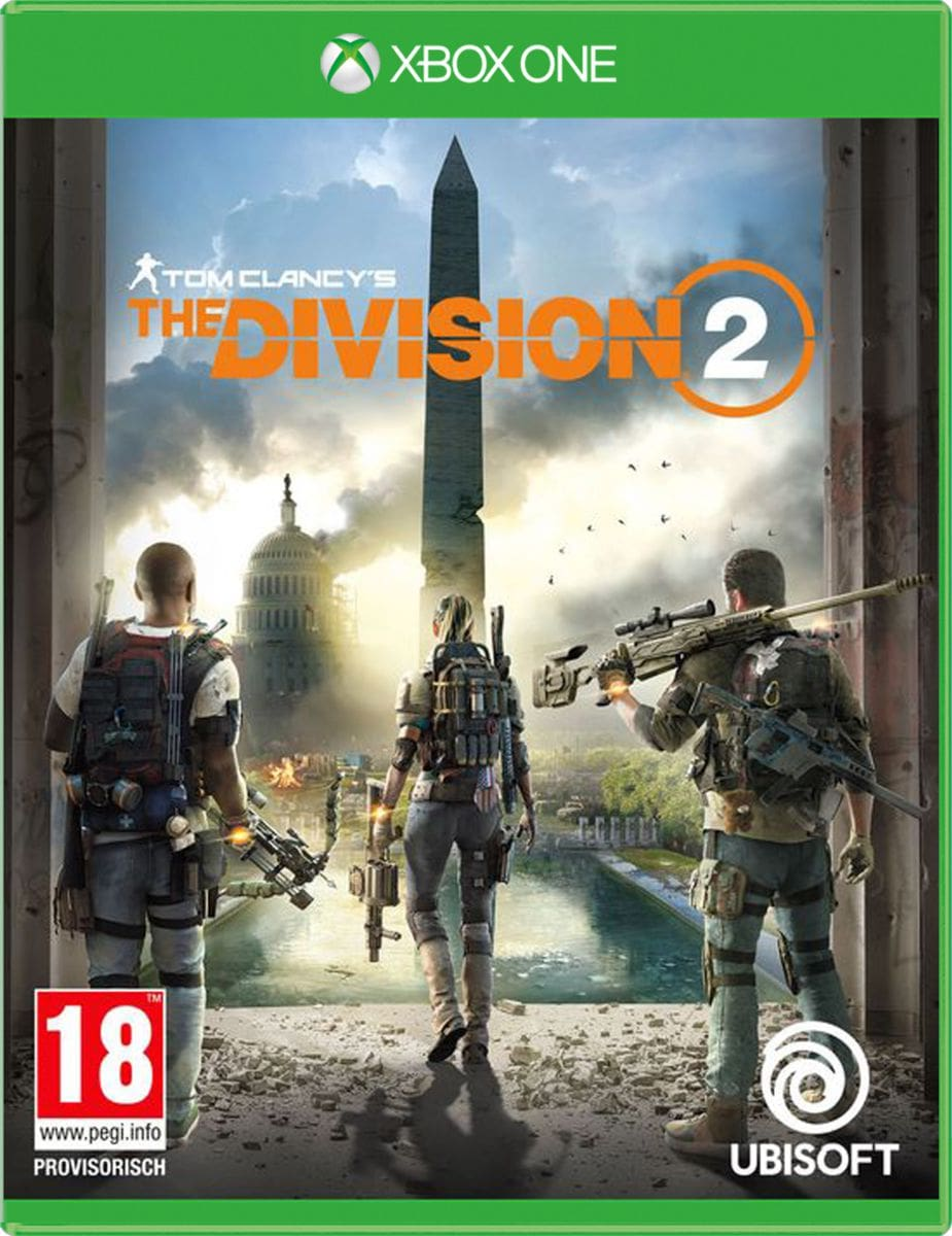 Xbox One - Tom Clancy's The Division 2 Box