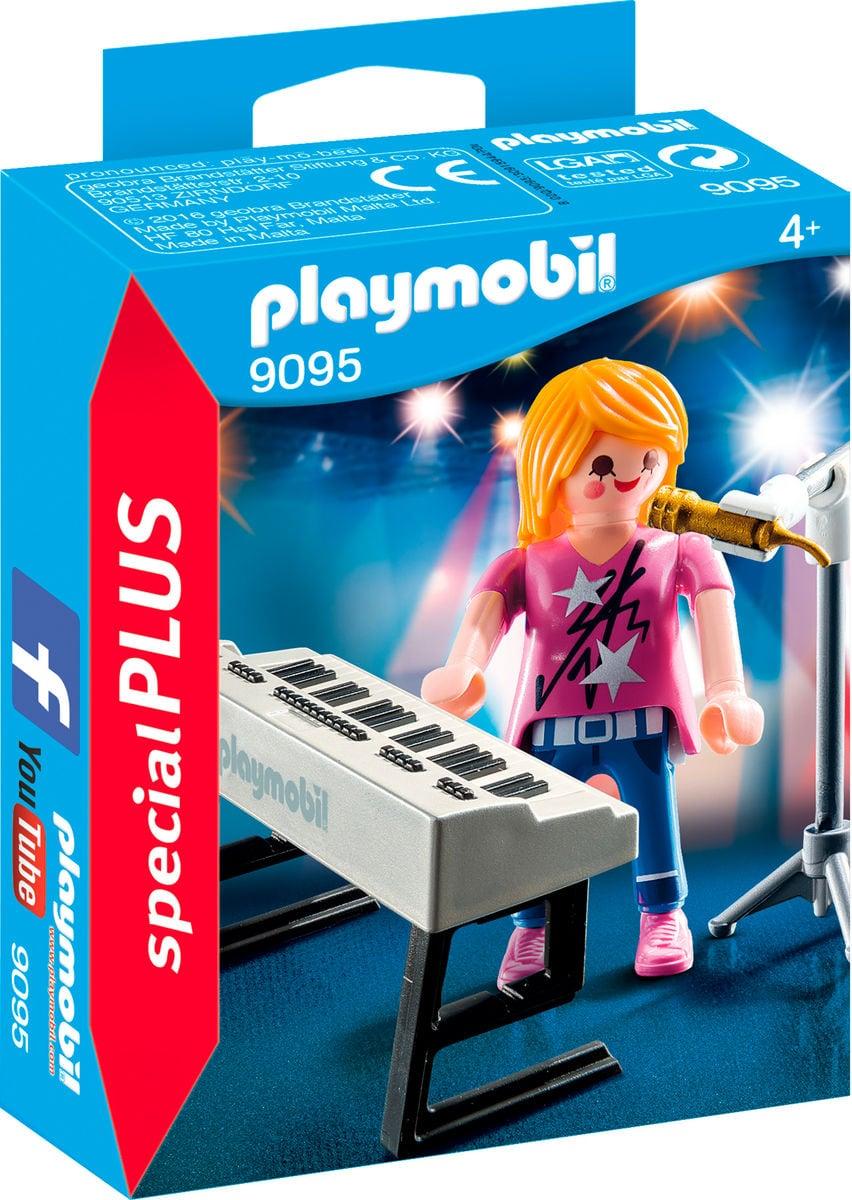 Playmobil Special Plus Chanteuse avec synthé  9095
