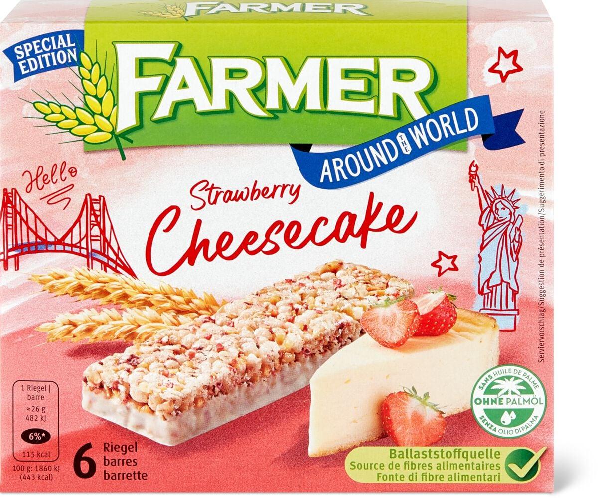 Farmer Strawberry Cheesecake