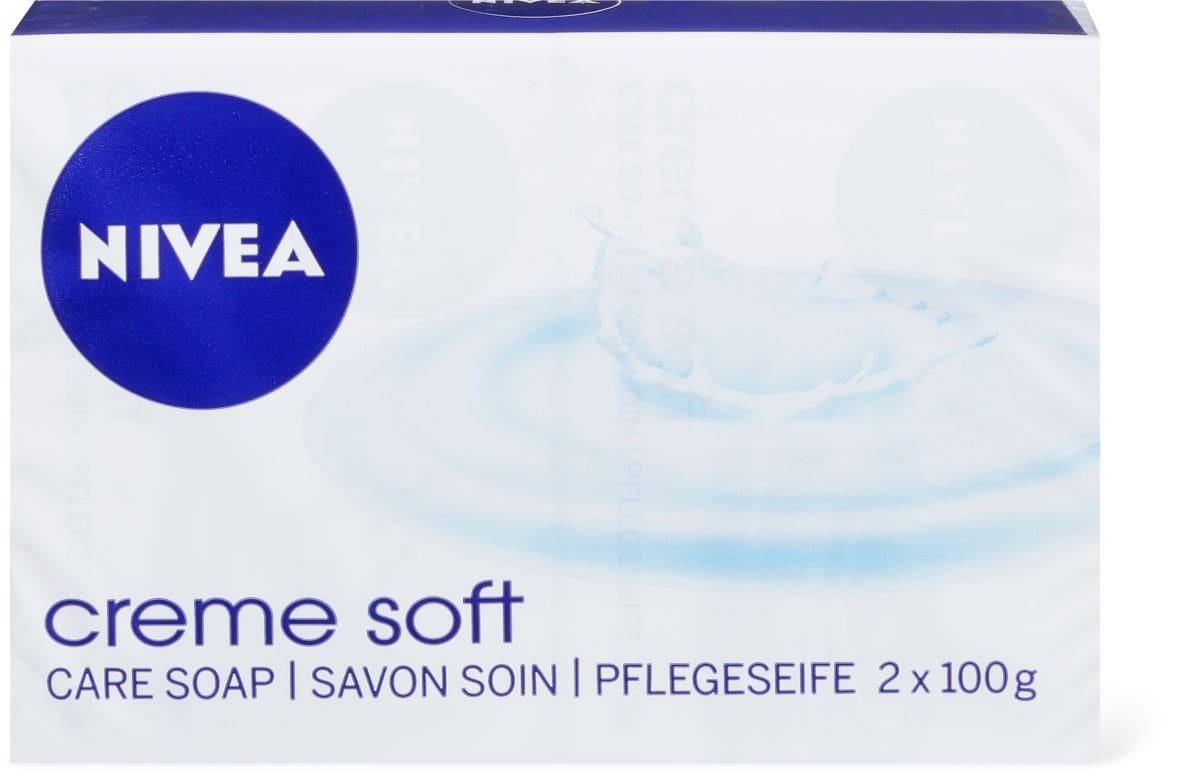 Nivea Creme Soft Savon crème amande