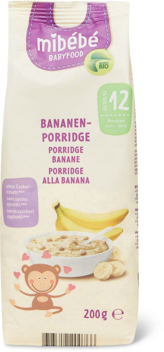 Mibébé Bananen-Porridge