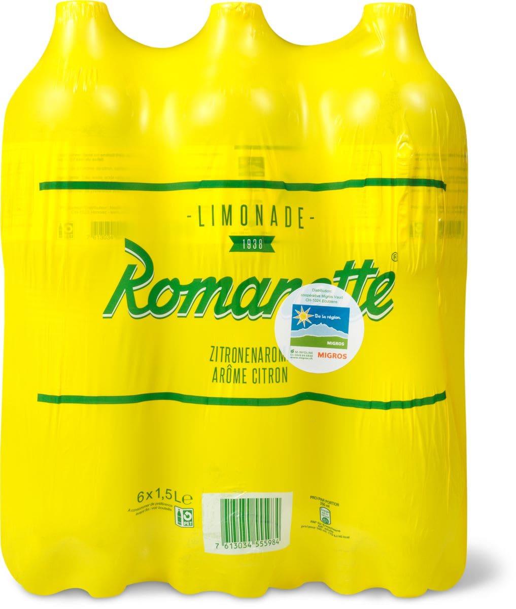 Dalla regione Romanette limone