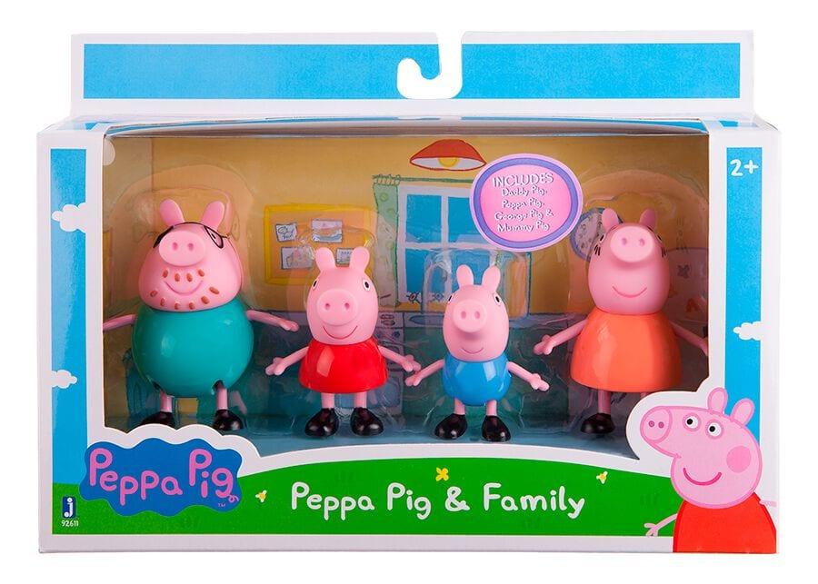 Peppa Pig 4 Figures Pack Spielfigur