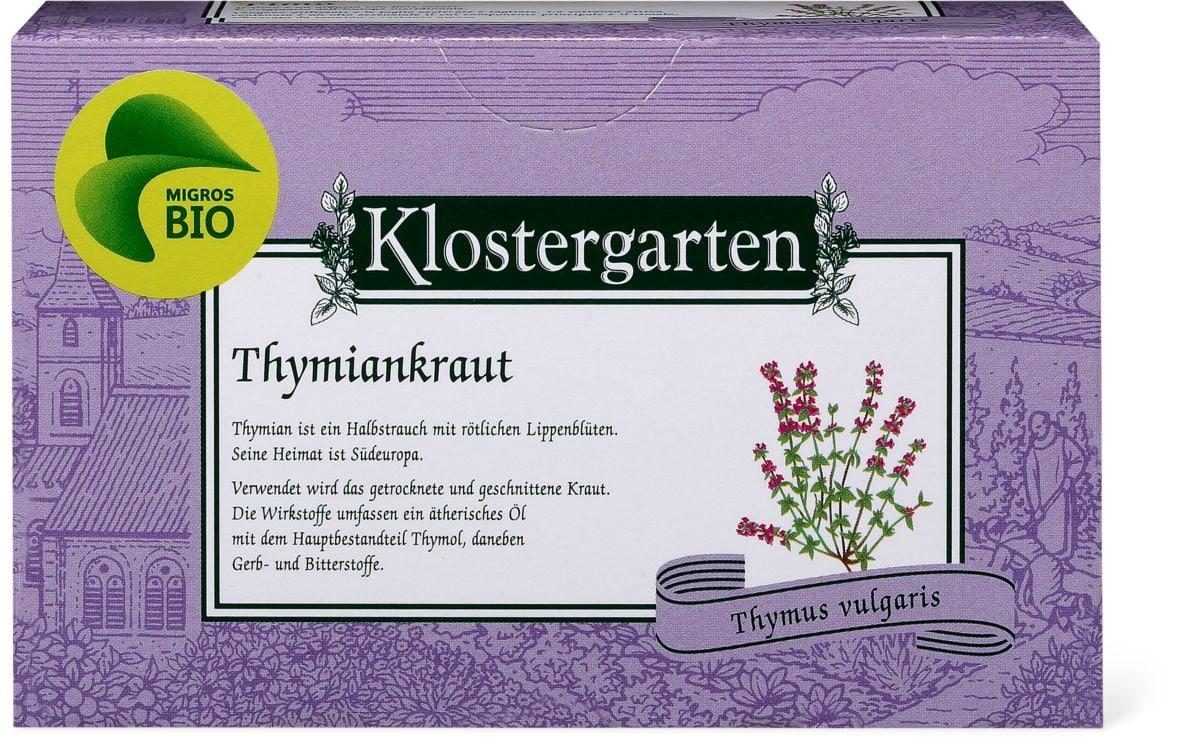 Bio Klostergarten Thymiankraut