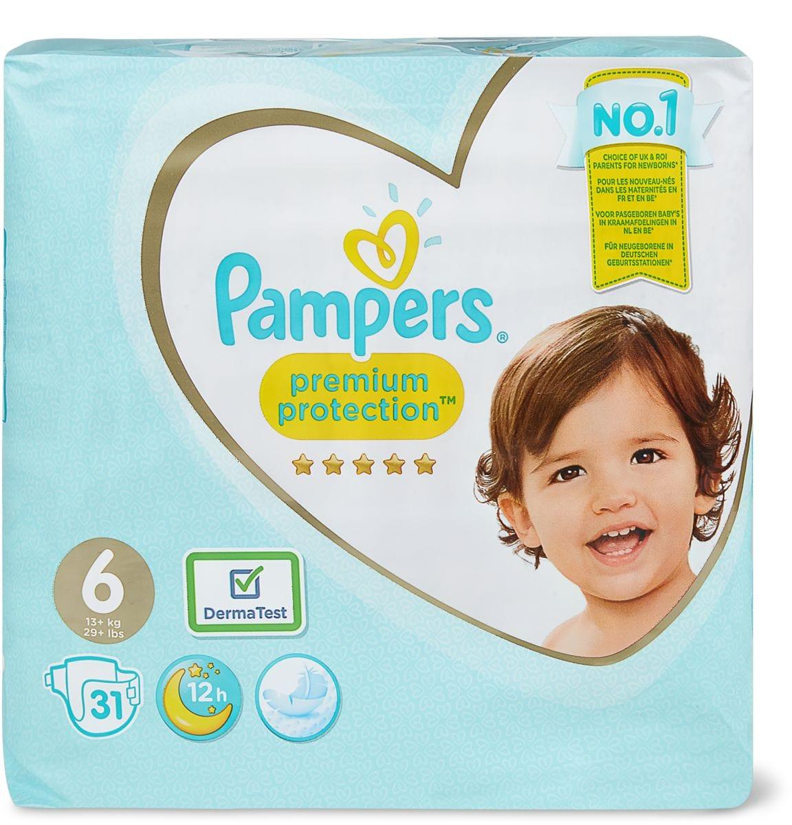 Pampers Premium Protection Gr. 6 XL, 13-18kg