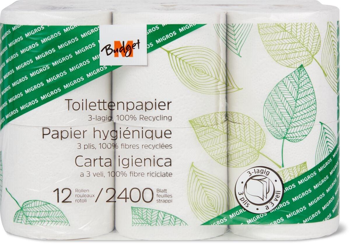 M-Budget Toilettenpapier