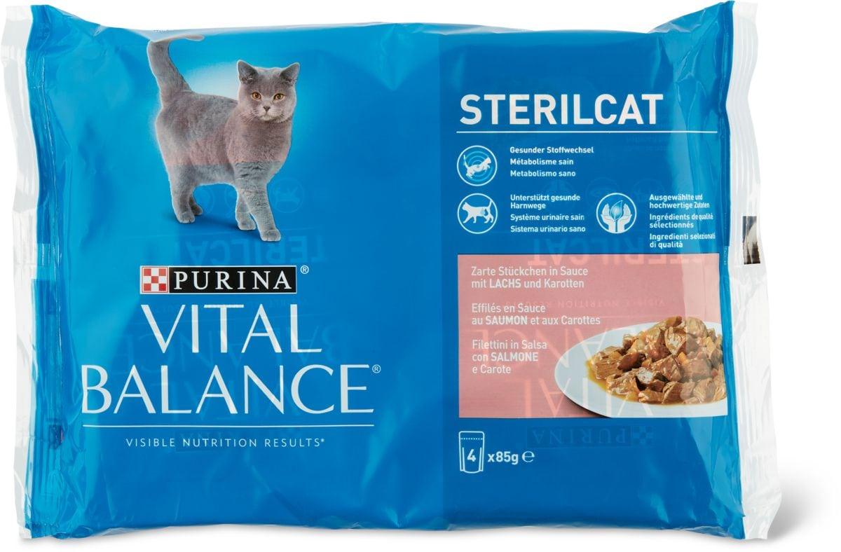 Vital Balance Sterilcat salmone