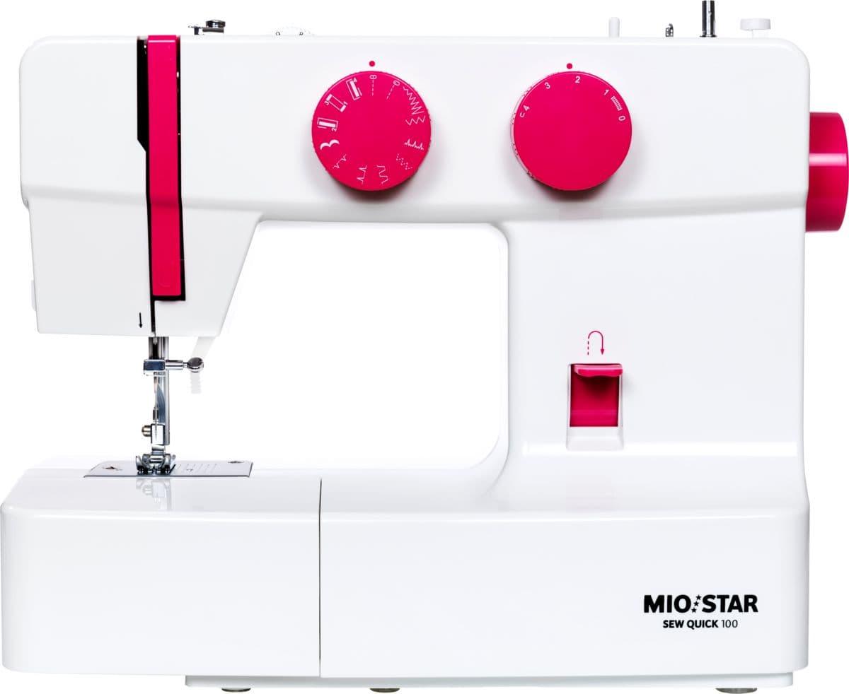 Mio Star Sew Quick 100 Rosa  Mechanische Nähmaschine