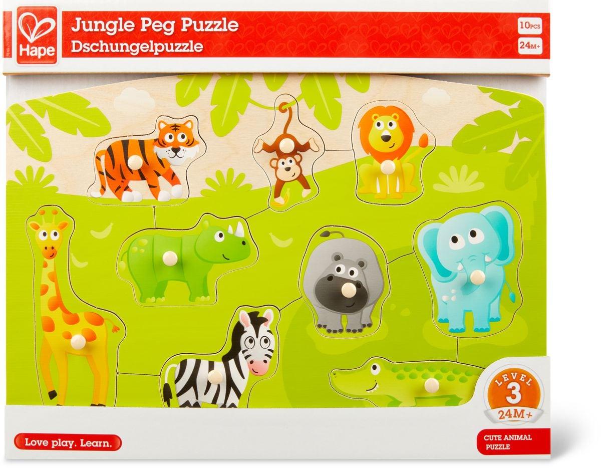 Puzzle À Boutons – Jungle