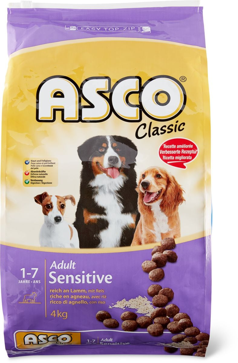 Asco Clas. Sensitive agneau & riz