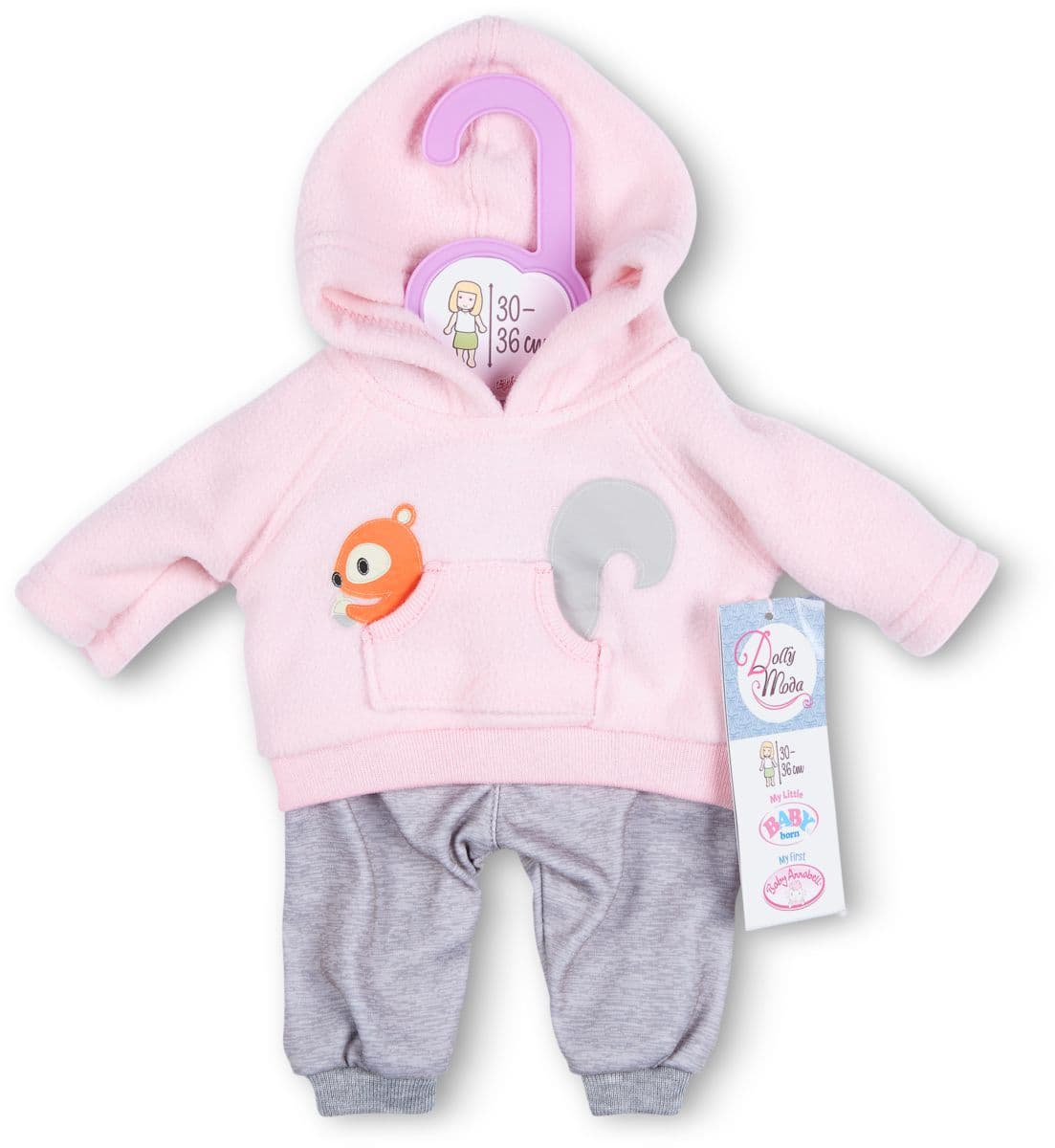 Dolly Moda Sport Outfit pink 30-36cm