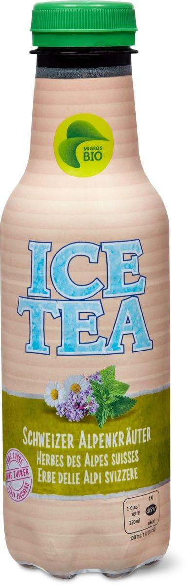 Bio Kult Ice Tea CH Erbe alp. s.zucchero