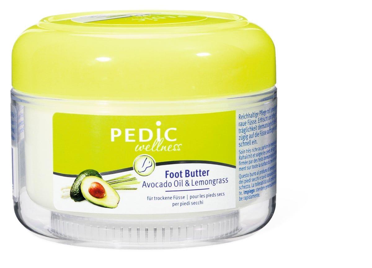 Pedic Foot Butter Avocado Oil & Lemongrass