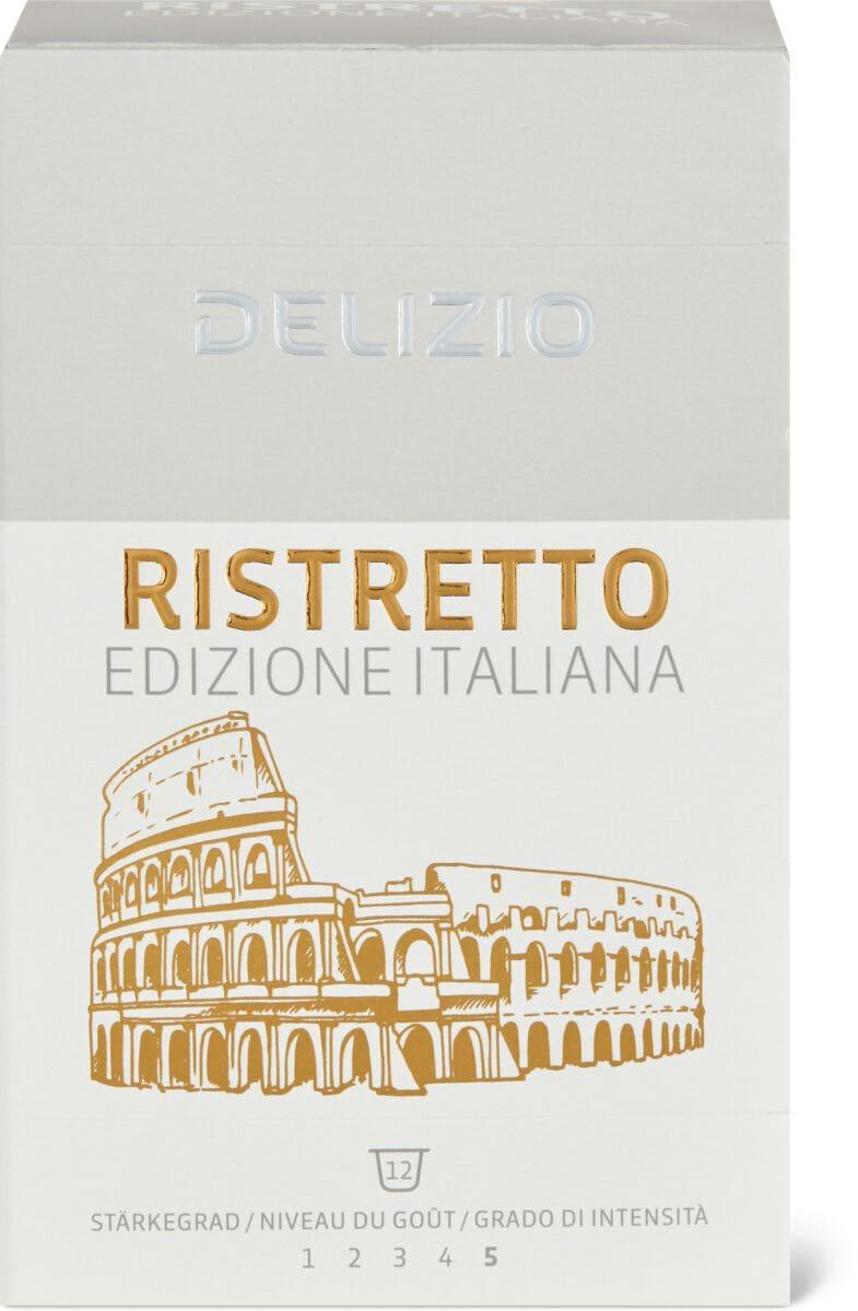 Delizio Ristretto Italiana 12 Kapseln