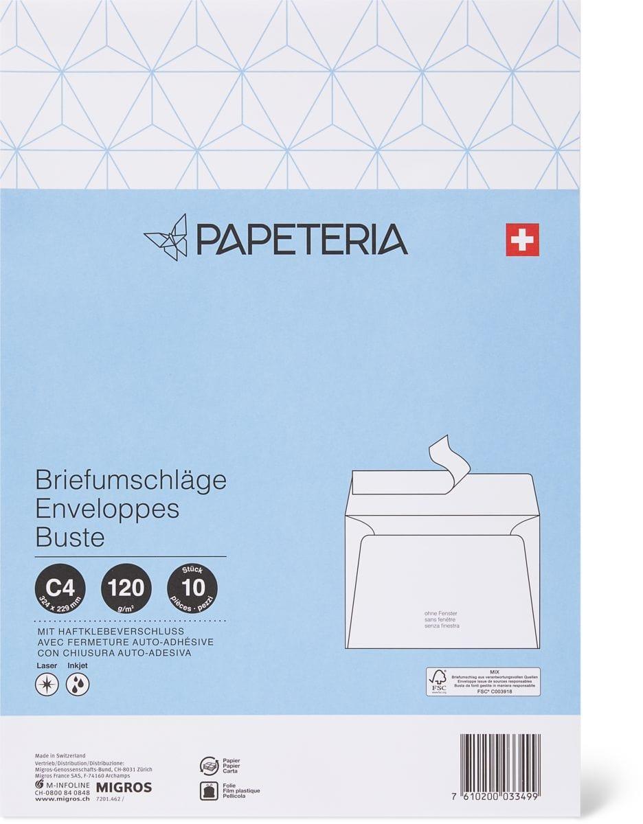 Papeteria C4 Briefumschläge ohne Fester