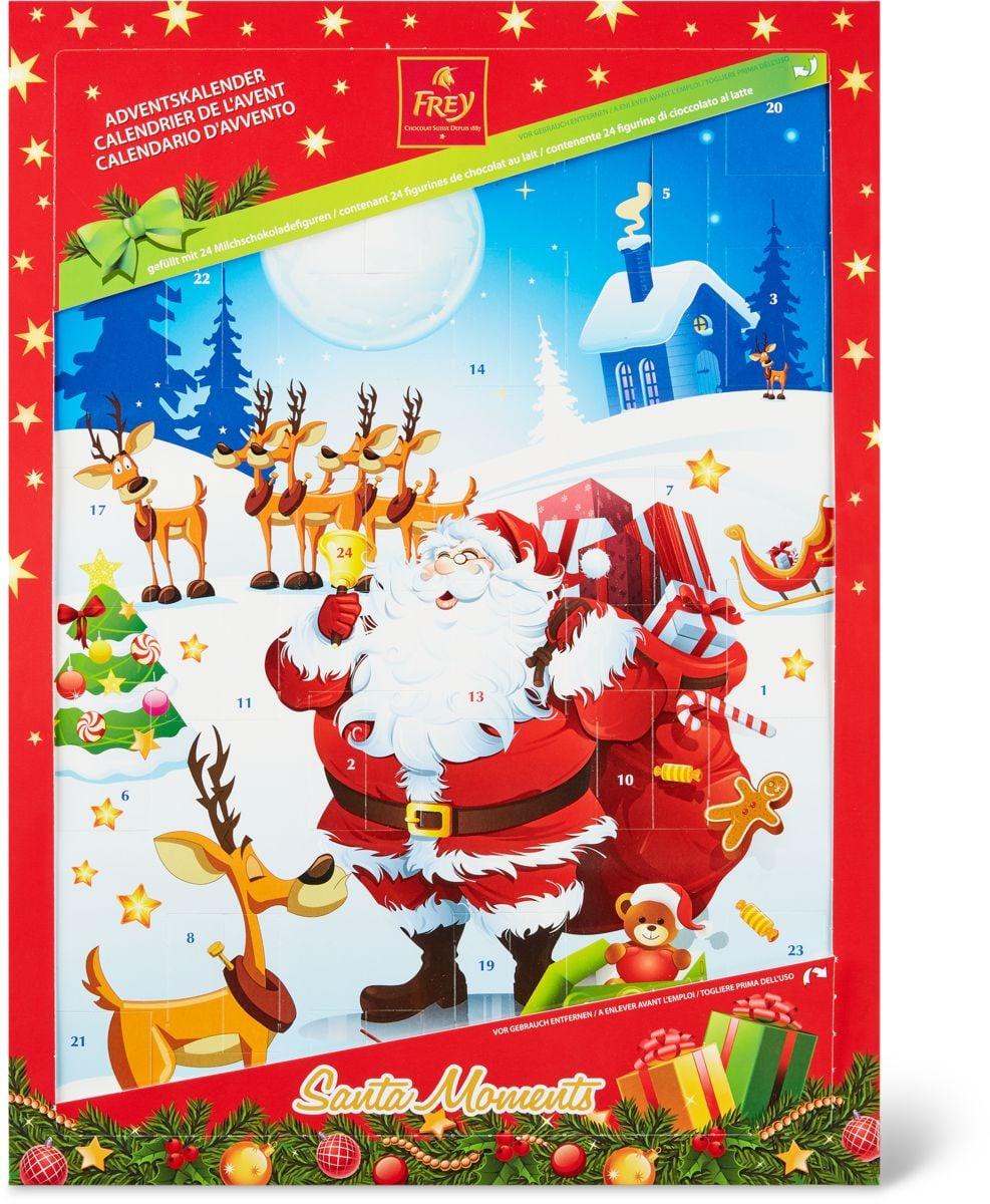 Frey Santa Moments calendrier de l'avent 150g