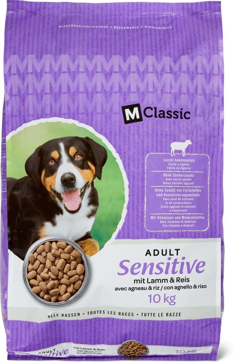 M-Classic sensitive avec agneau & riz
