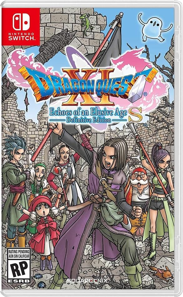 Nintendo NSW - Dragon Quest XI S: Les Combattants de la destinée Édition ultime Box