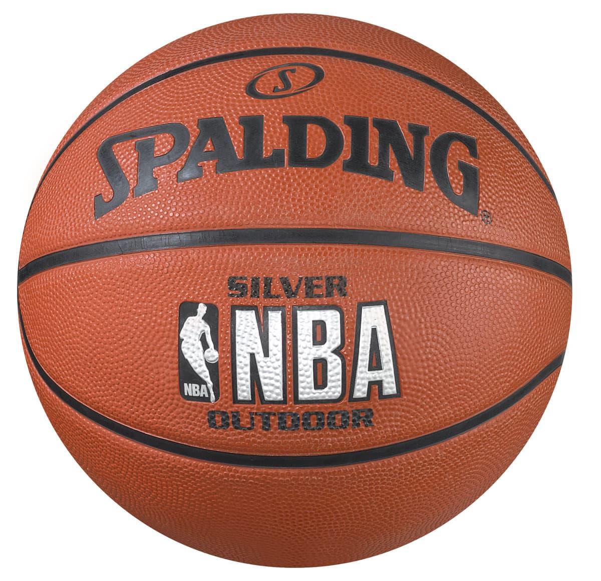 spalding nba silver 7 ballon de basket ball migros. Black Bedroom Furniture Sets. Home Design Ideas