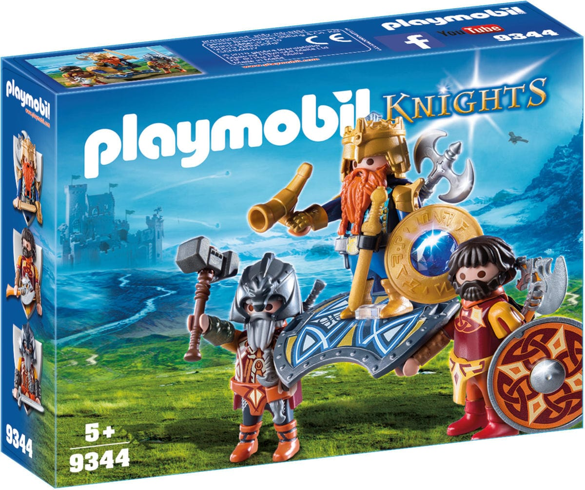 Playmobil Re Guerriero