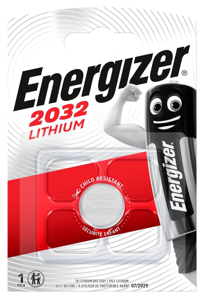 Energizer CR2032 (1Stk.) Knopfzelle