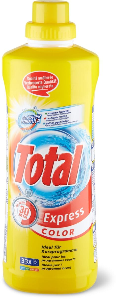 Total Waschmittel Express Color
