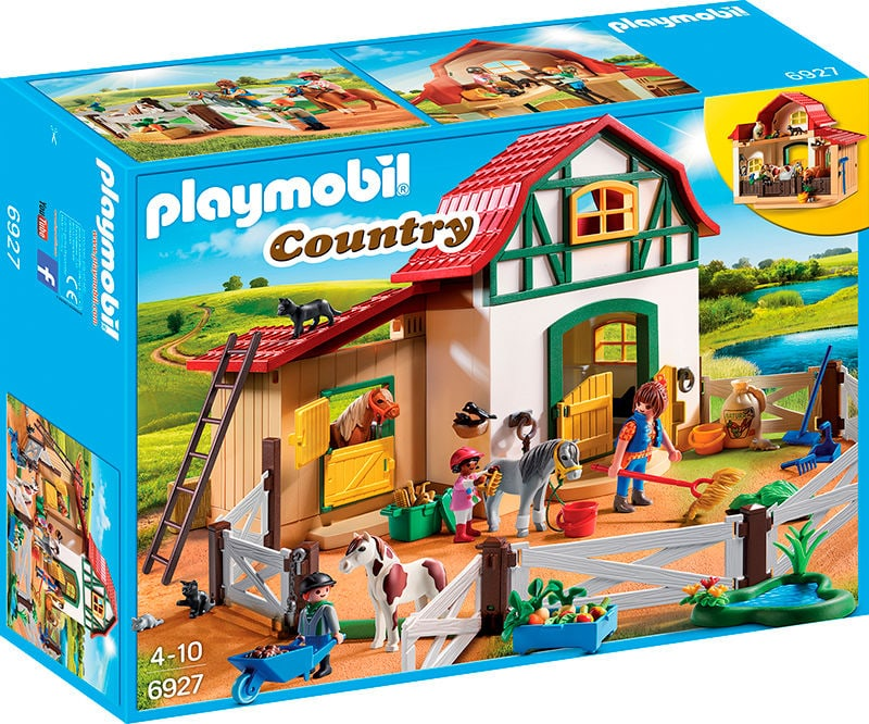 PLAYMOBIL Country Ranch avec poneys 6927