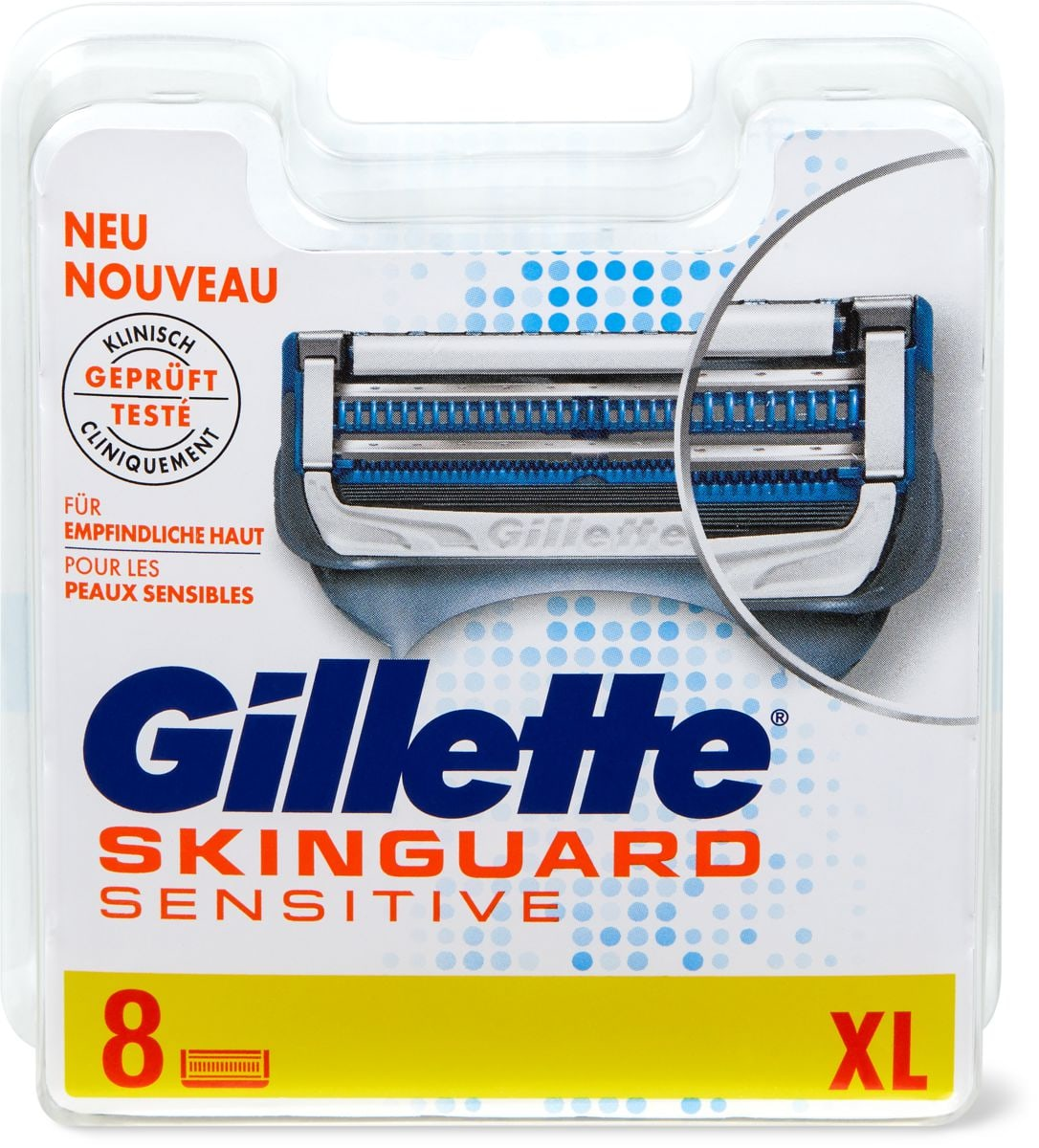 Gillette Skinguard Sensitive Klingen