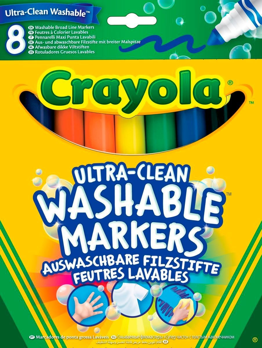 Crayola Abwaschbar Malen