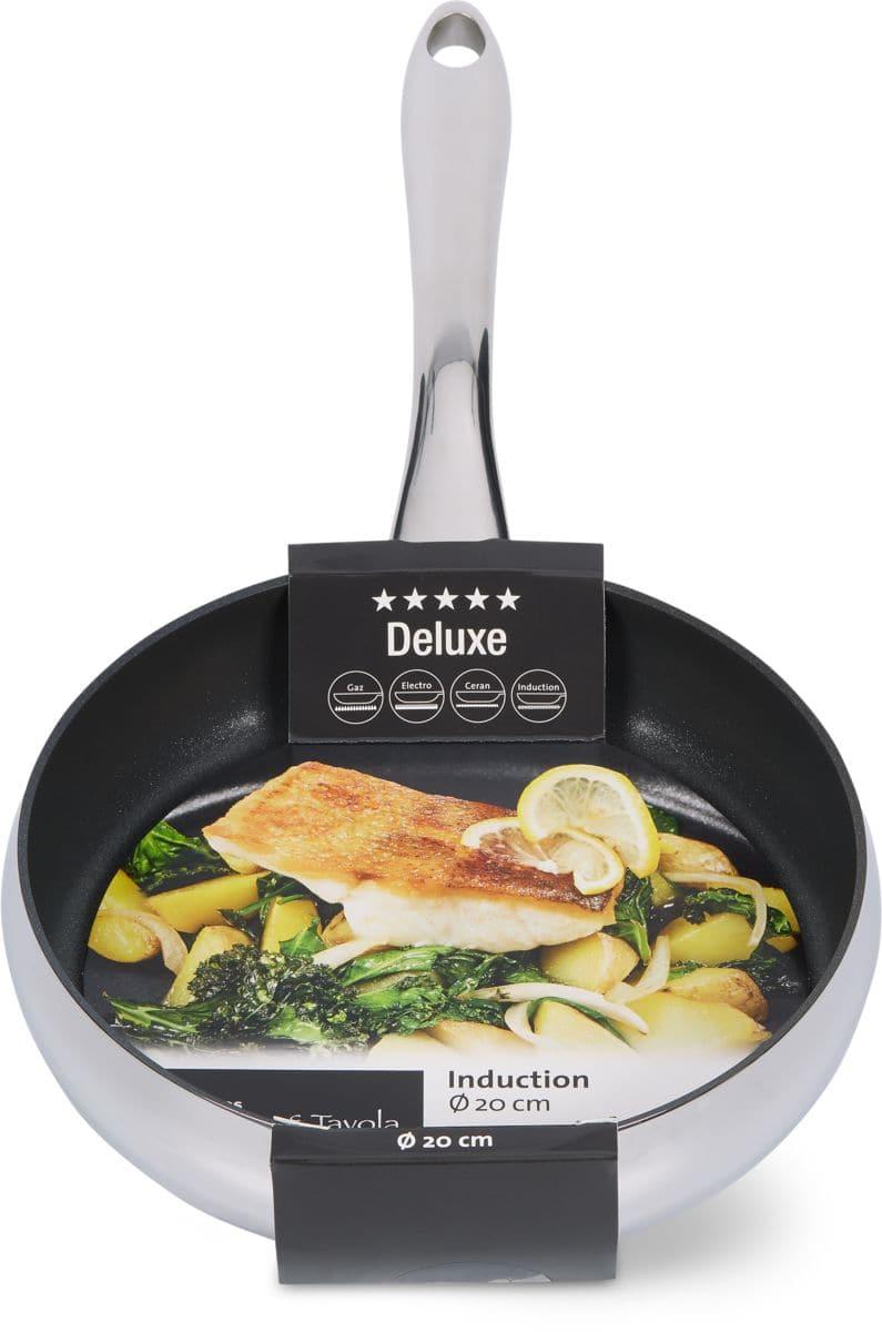 Cucina & Tavola DELUXE Bratpfanne 20cm flat