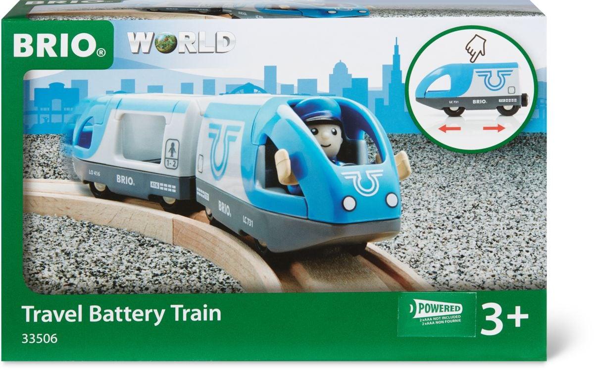 Brio Treno passeggeri (a batterie) (FSC®) Piste