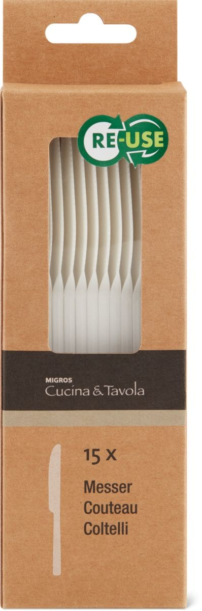 Cucina & Tavola Cucina & Tavola Messer, 15 Stück