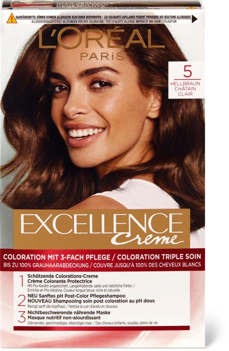 L'Oréal Excellence Creme 5 Hellbraun