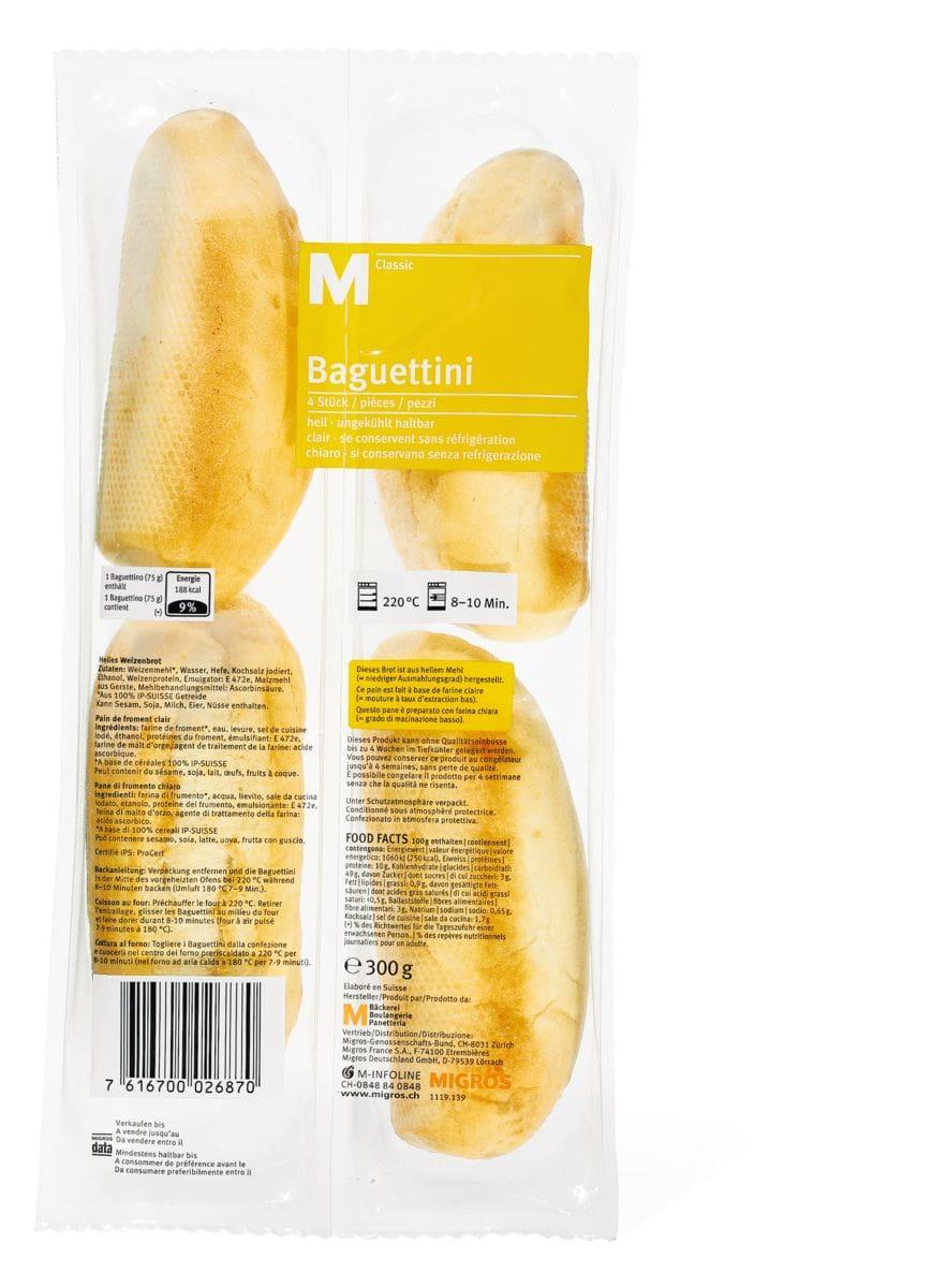 M-Classic Baguettini précuite Terrasuisse