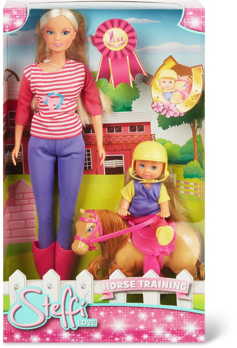 Simba Steffi Love Horse Training Set di bambole