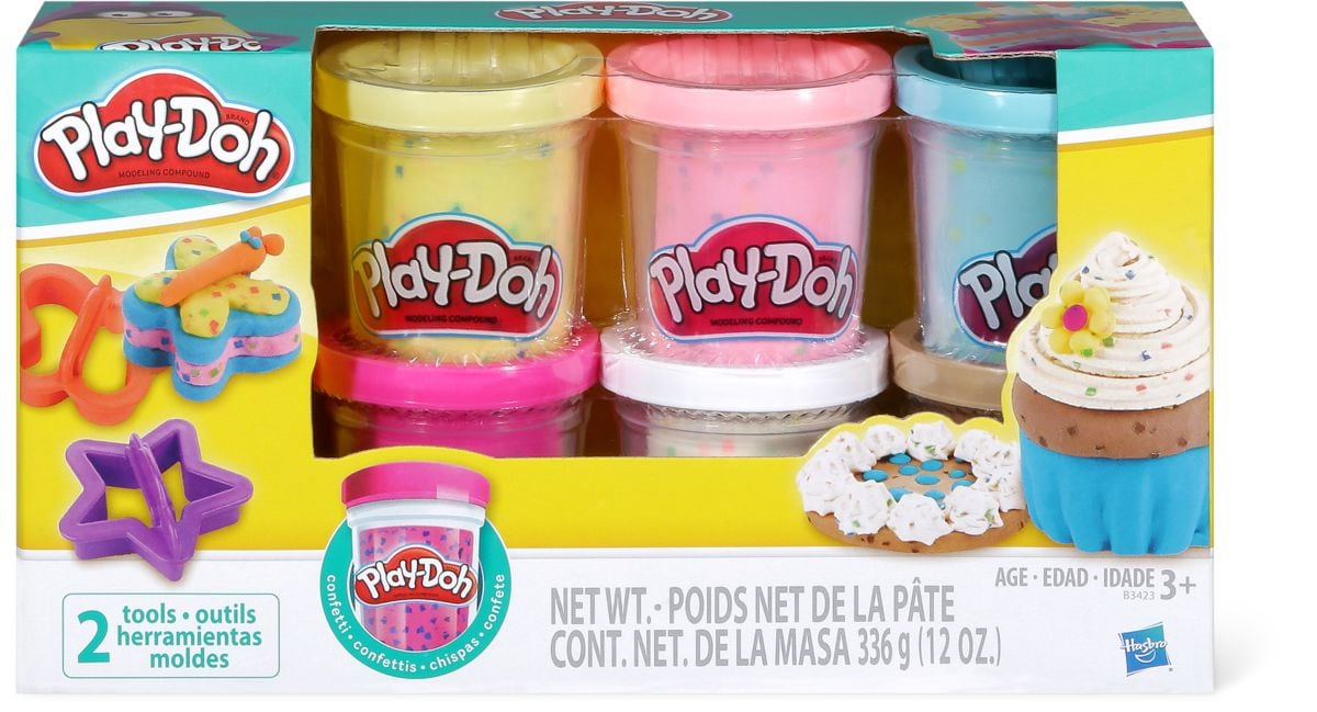 Play-Doh Confetti compound collection