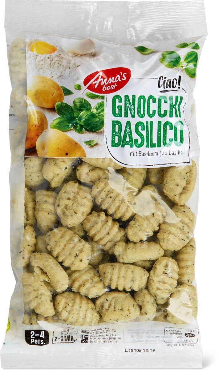 Anna's Best Gnocchi al basilico