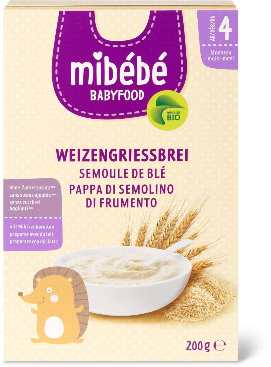 Mibébé pappa di semolino frumento