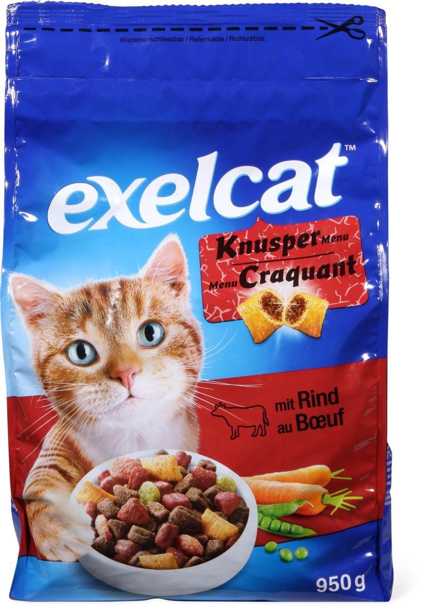 Exelcat Knusper Menu mit Rind