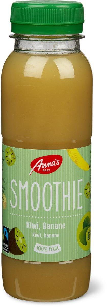 bio anna 39 s best smoothie kiwi banane migros. Black Bedroom Furniture Sets. Home Design Ideas