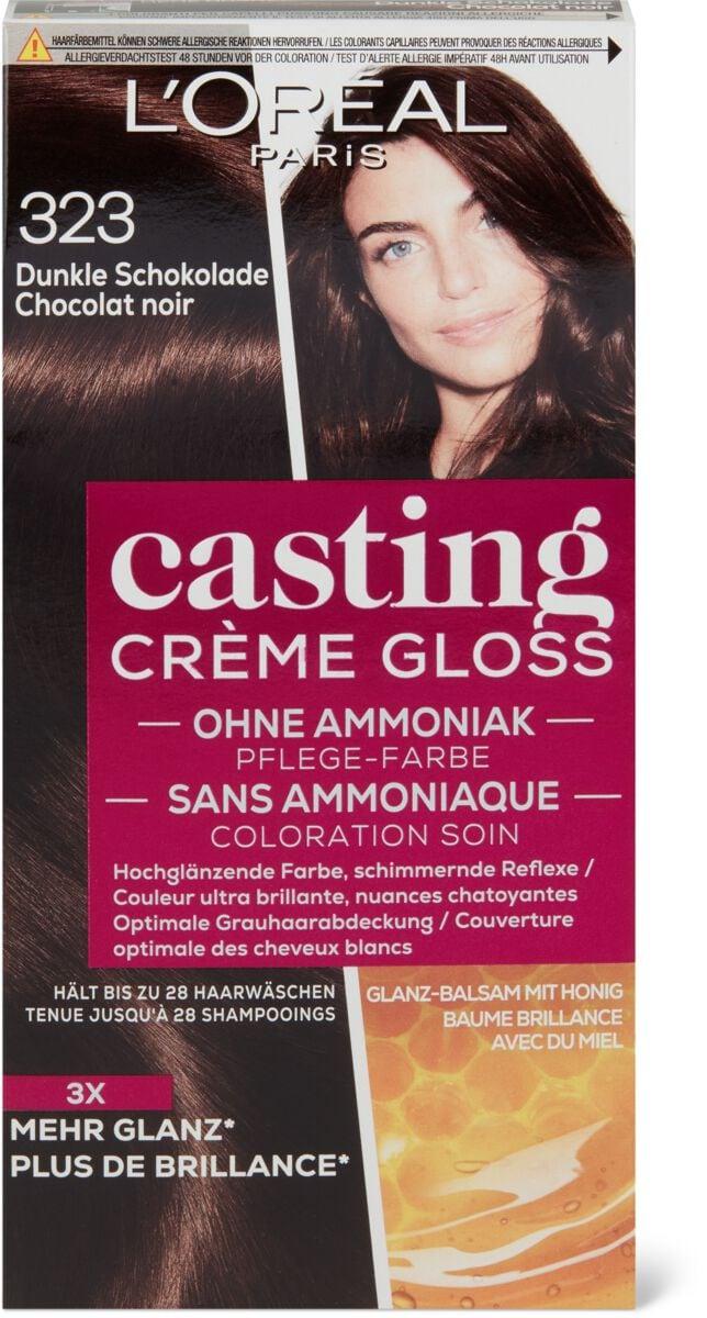 L'Oréal Casting Crème Gloss 323 Schokolade