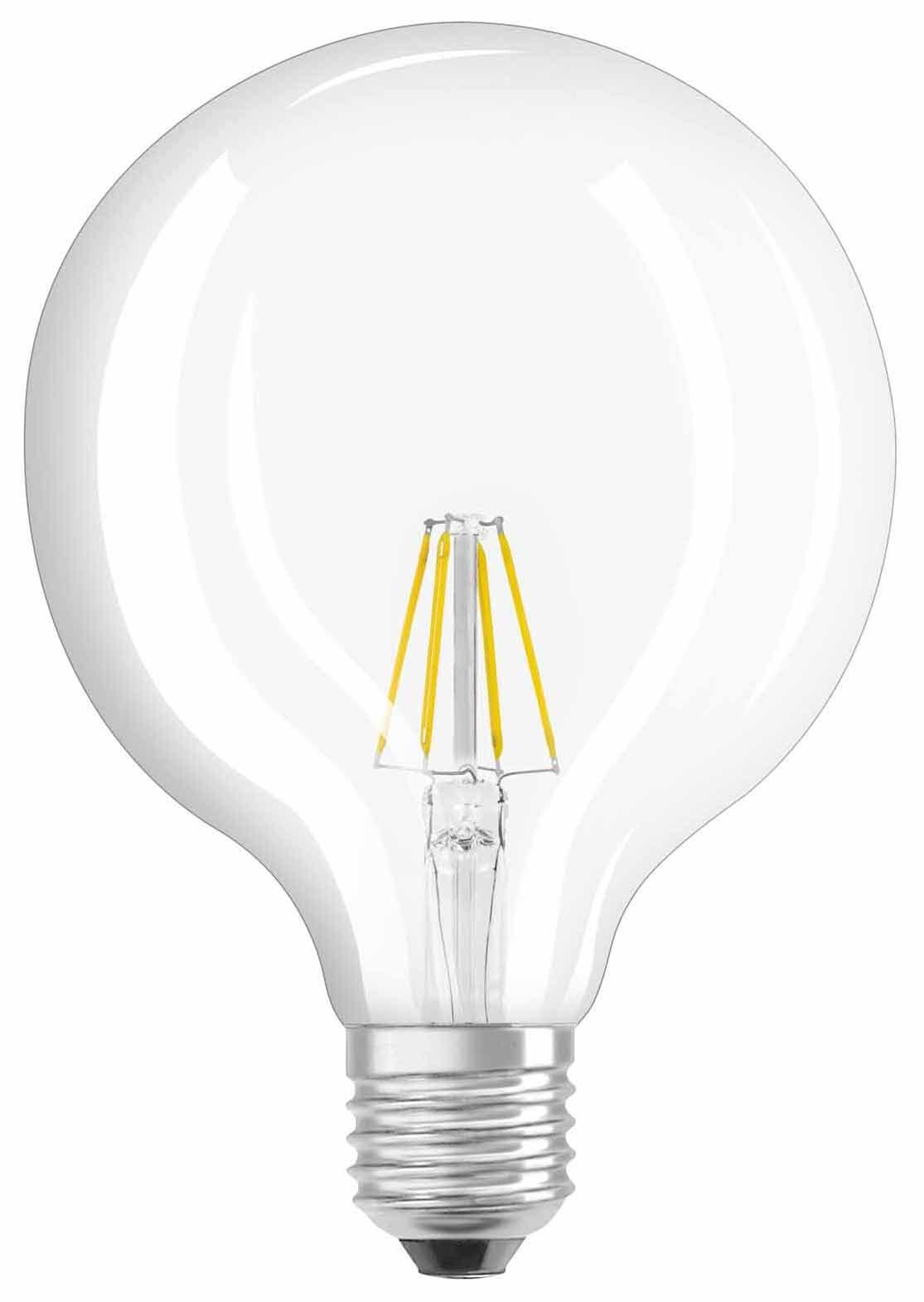 osram led e27 60w filament globe cl migros. Black Bedroom Furniture Sets. Home Design Ideas