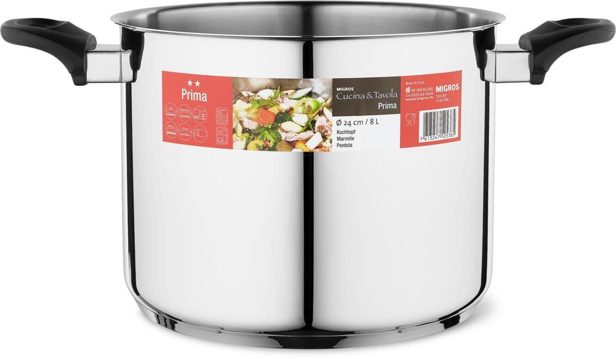 Cucina & Tavola PRIMA Marmitta 24cm 6.0L