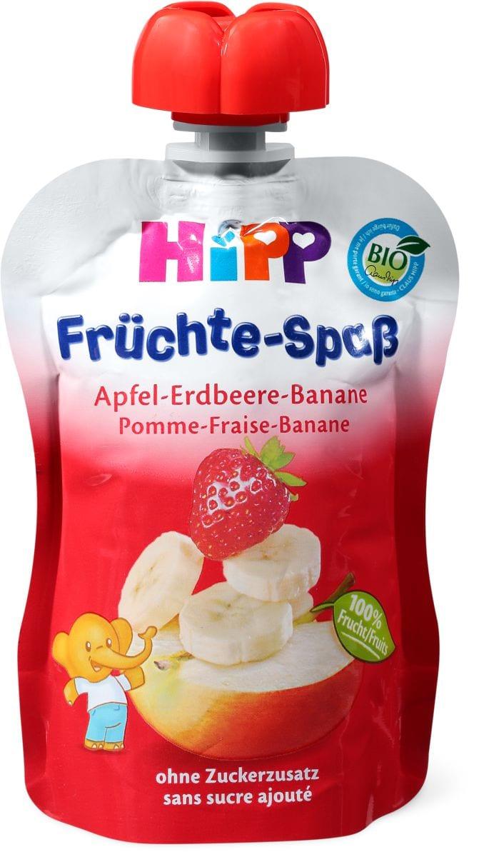 HiPP Quetschbeutel Apfel-Erdbeer-Banane
