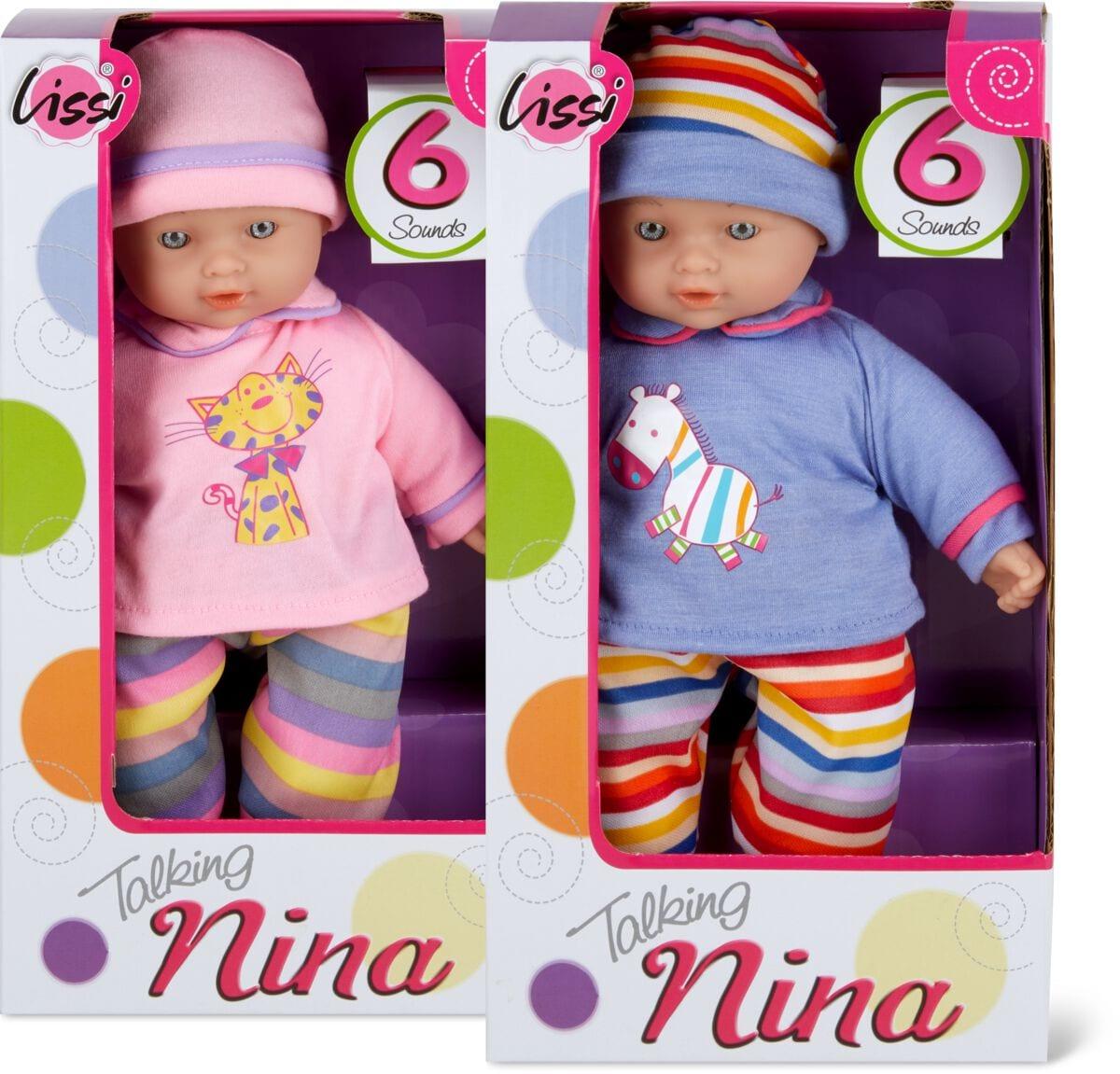 Lissi Dolls Sprechendes Baby Mit 6 Sound Poupée