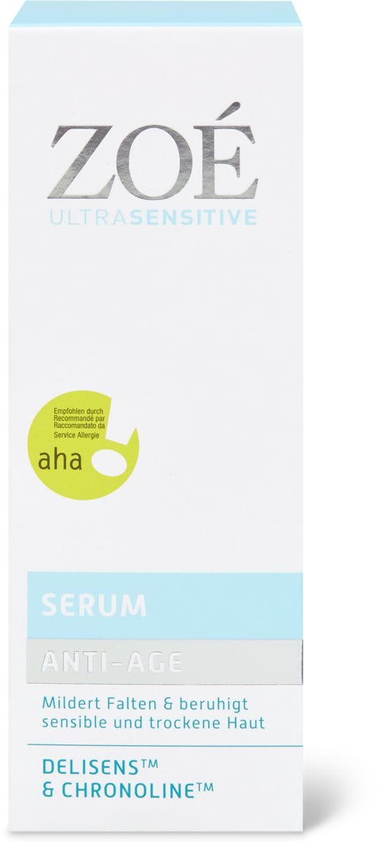 Zoé Ultra Sensitive Anti Age Serum
